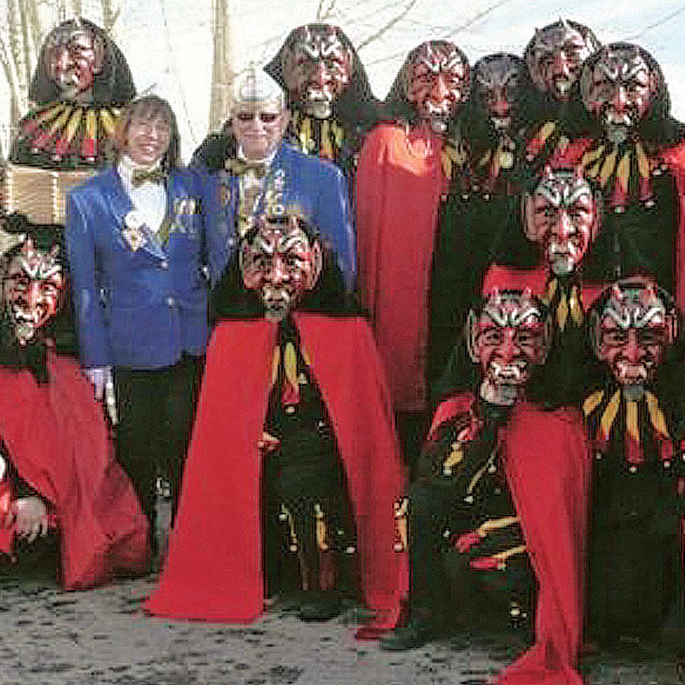 Société Carnavalesque Einhorn Saverne - Frankreich
